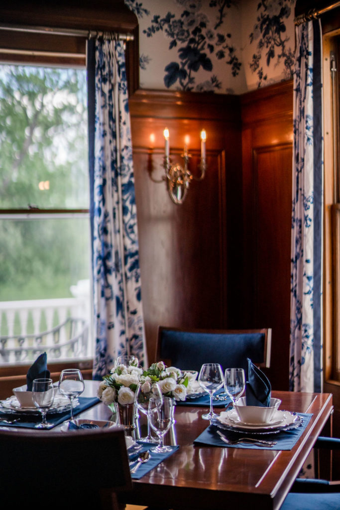 Photo by Rodeo and Co Burklynn Hall renovation dining room