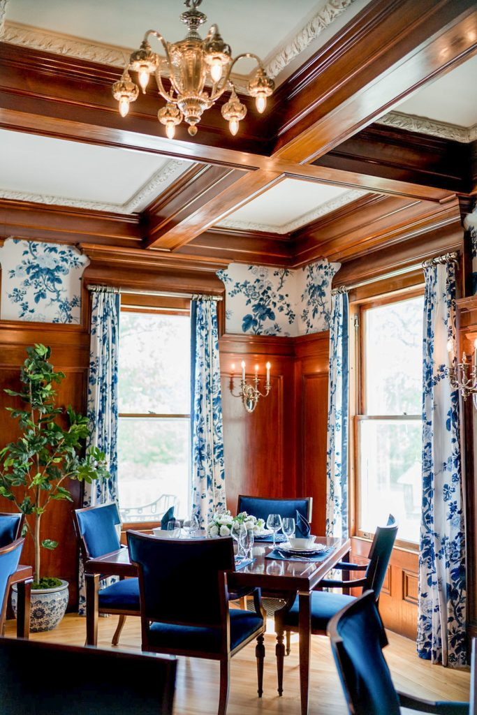Photo by Rodeo and Co Burklynn Hall renovation dining room photo styling Prism House
