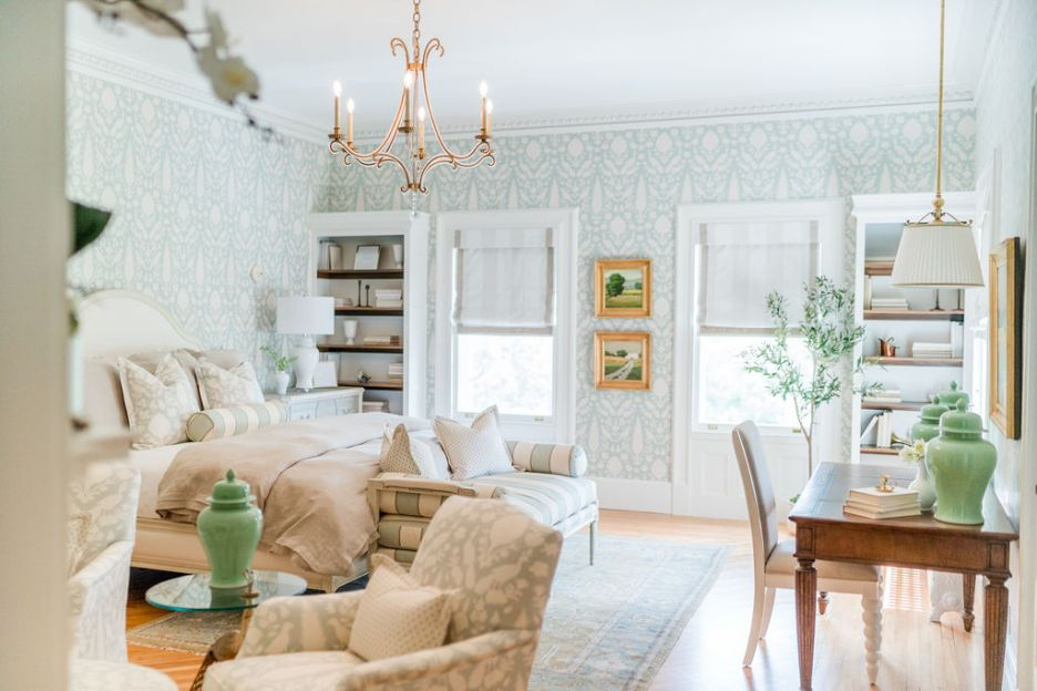 Photo by Rodeo and Co Burklynn Hall renovation bedroom a