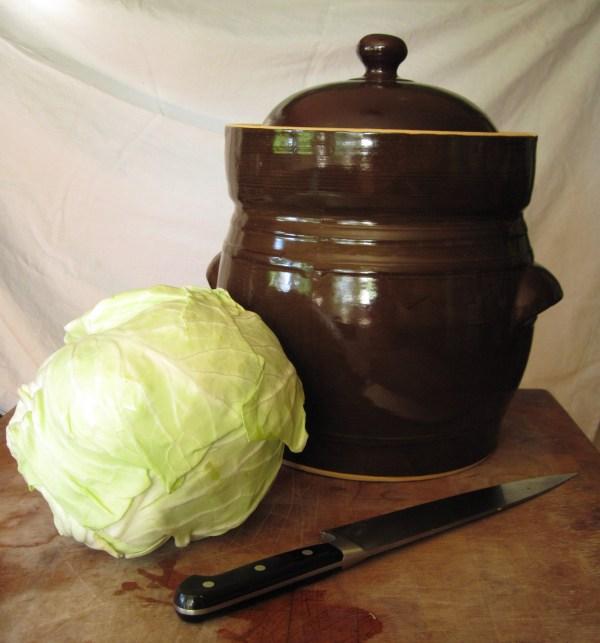 Polish Fermentation Pot Gardener' Table