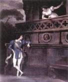 Painting of Romeo & Juliet Balcony Scene