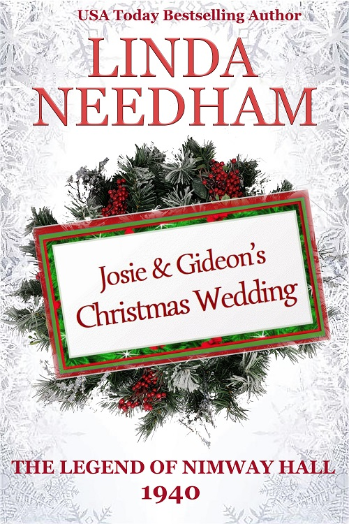 Book Cover, Josie & Gideon's Christmas Wedding