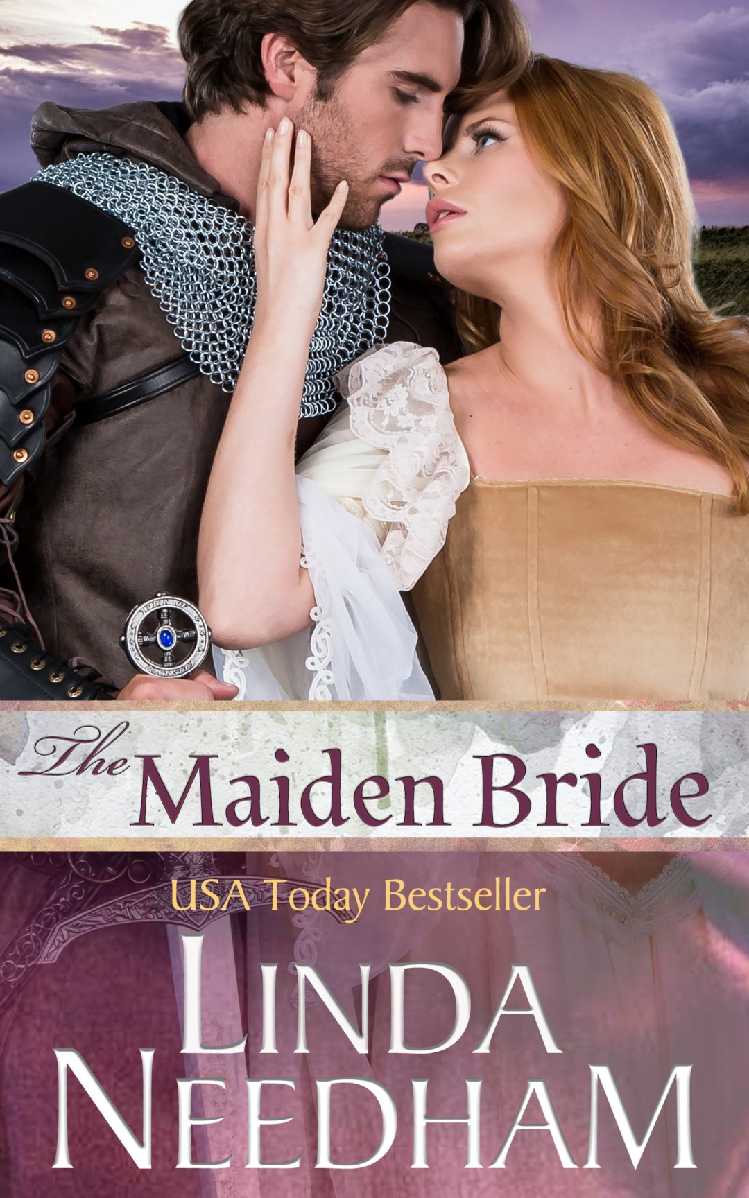 Book cover The Maiden Bride by Linda Needham