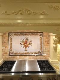 Italian Design - Still Life Kitchen Tile Backsplash Mural