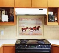 Horse Murals Kitchen Tile Backsplashes of Horses - Horses ...
