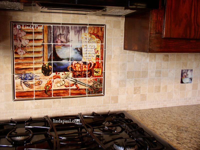 Louisiana Kitchen Tile Backsplash