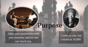 Do you know your purpose?