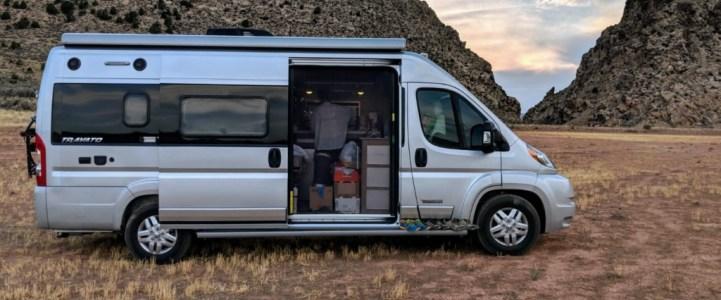 露營車-VanLife週記1:新手RVer的第一週