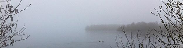 Mist boven een meer