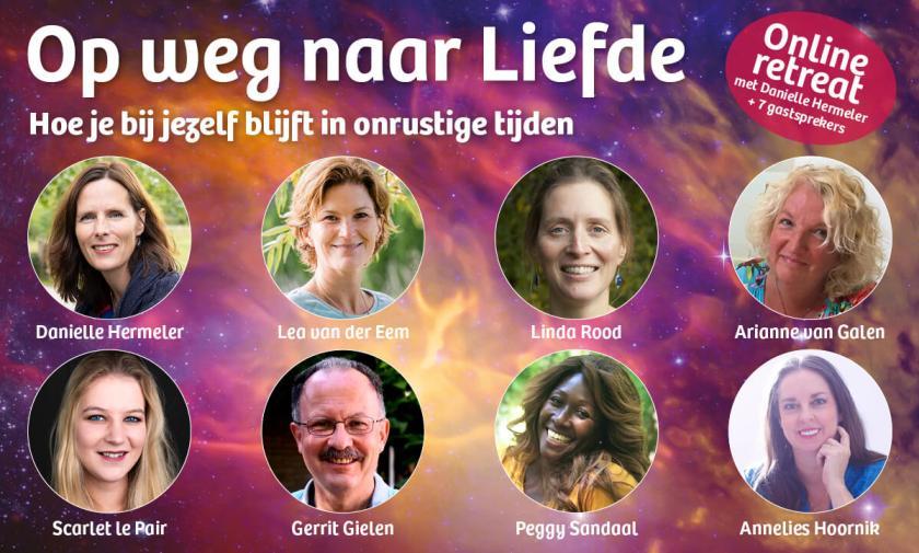 Foto van de online retreat 'Op weg naar Liefde'