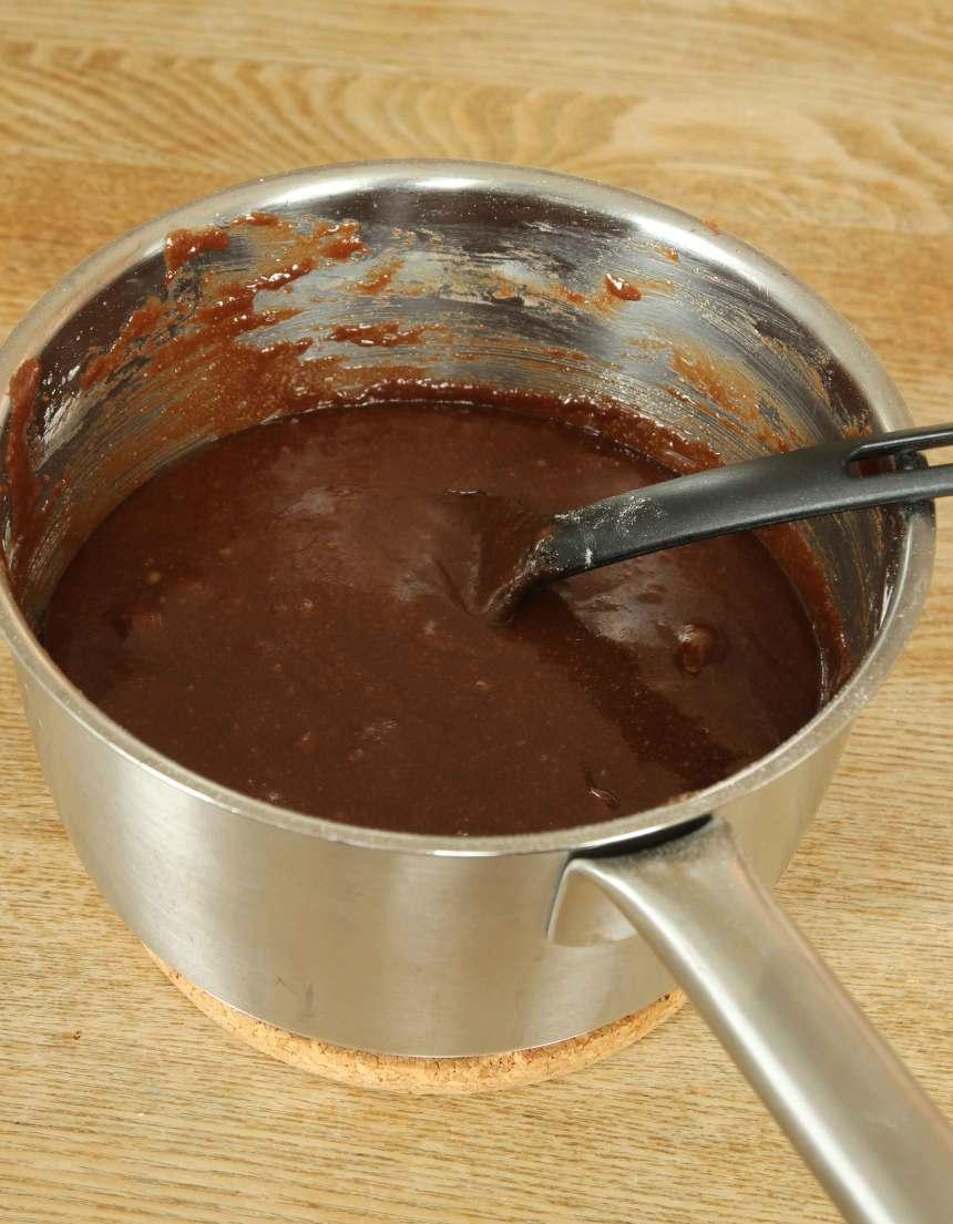 1. Gör smeten enligt receptet.