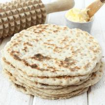 Baka ljuvligt gott 3-minutersbröd i stekpanna –klicka här för recept!