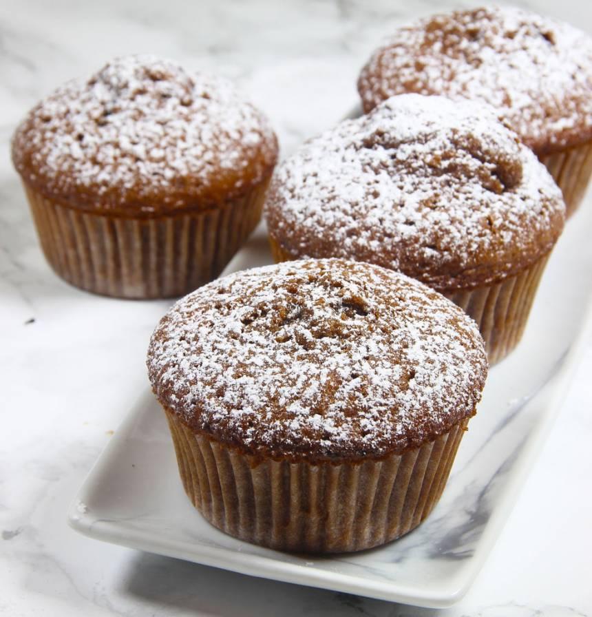 chokladmuffins utan ägg och mjölk