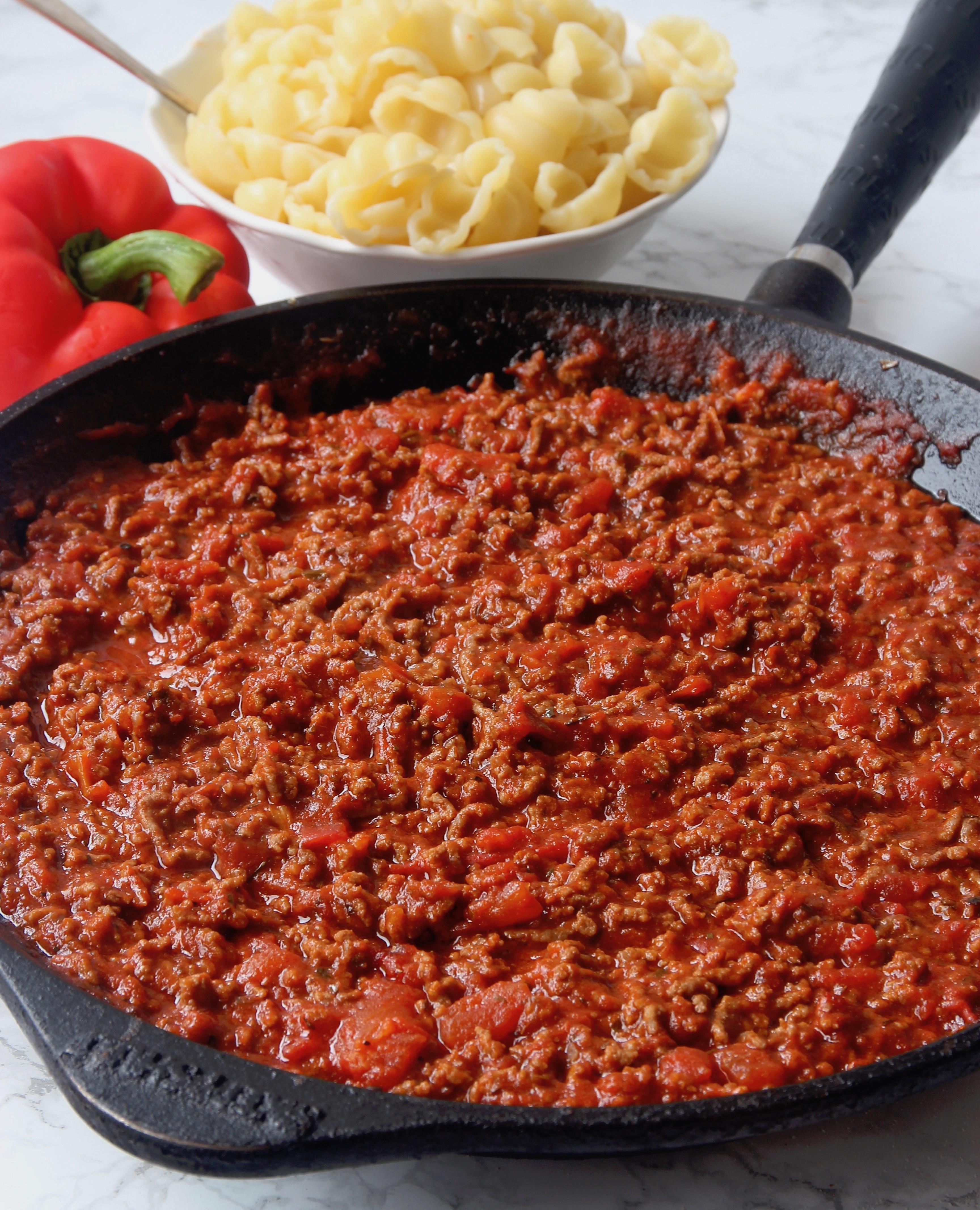 chiliköttfärssås