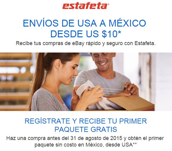 Estafeta eBay
