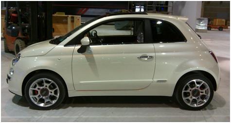 Fiat 500 Jeanette Haga Holgersen