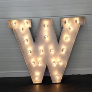 bokstav med lys ferdig med lys 2