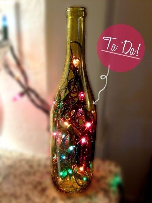 Jul på flaske