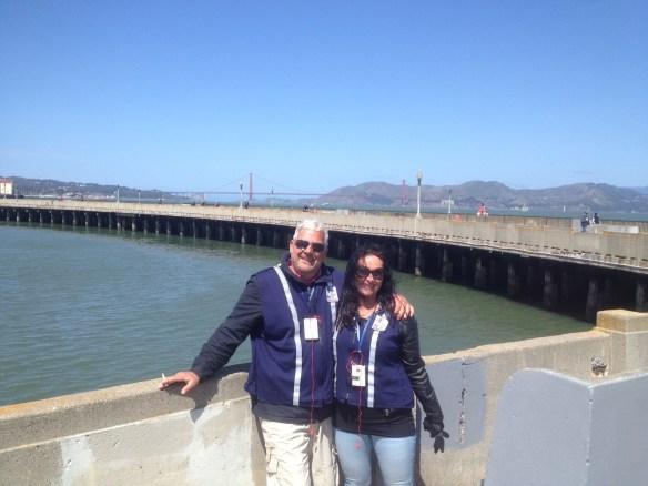 Pause i Segway kjøring San Francisco
