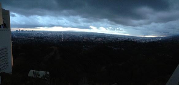 Utsikt fra Griffit Observatory 3