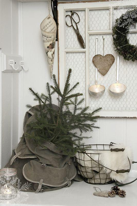 Julepynt i enkel stil
