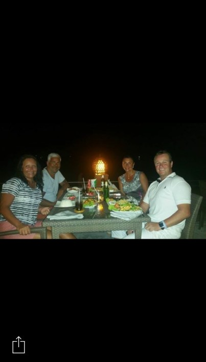 Akira Koh Lipe middag med Ausra og Åge første kvelden 1
