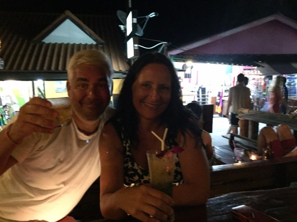 Walking Street Bar Koh Lipe Linda og Geir