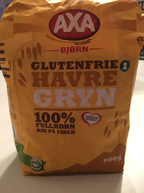 Havregryn glutenfrie Axa Bjørn