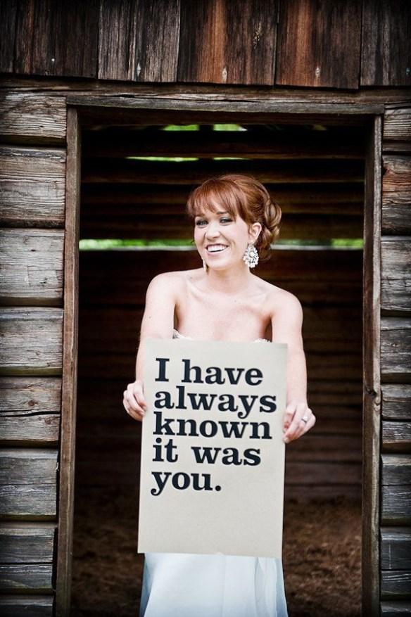 fotografering brud bryllup til brudgom