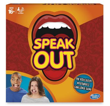 Speak out spill produkteske