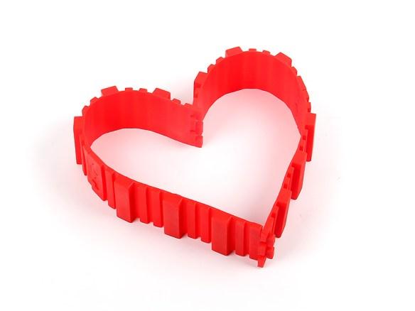 kakeform hjerte form