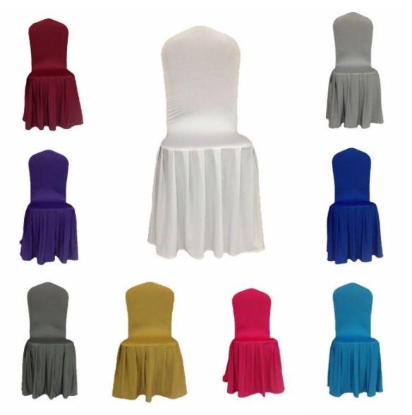 Stoltrekk med plissetskjørt i ulike farger