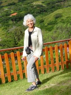 Linda at Izhcayluma in Vilcabamba