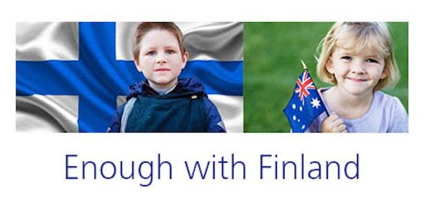 Enough With Finland
