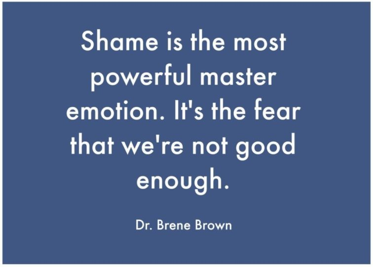 Big, toxic shame is unspoken and destructive. Sometimes we fall into the trap of triggering it to 'discipline' kids. Why? How do we go about healing shame?