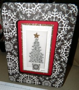 Sandi Grimes:  Altered Wooden Frame