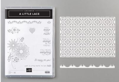 A little lace bundle from Stampin Up