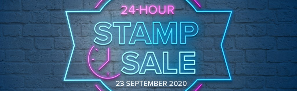 24 Hour Stamp Sale Coming on September 23rd!