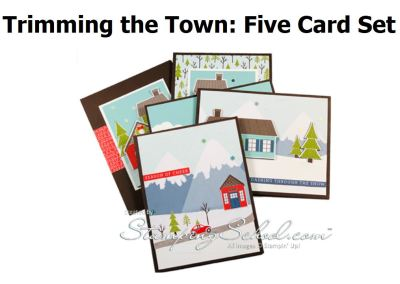 Trimming The Town: 5 Card Set