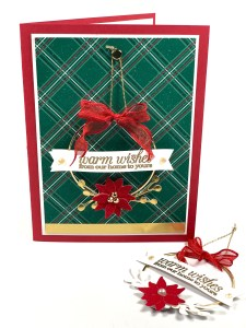 Video:  Mini Ornament on a Card