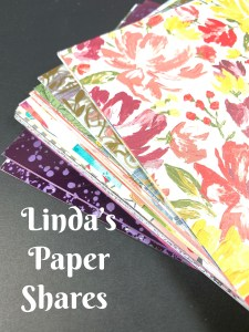 Linda's Paper Shares for January Catalog!