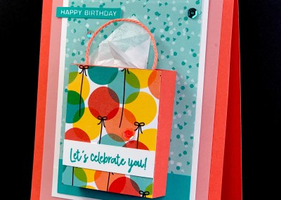 Mini Pop Up Gift Bag Card