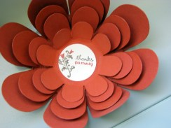 FLOWER OPEN (all images copyright Stampin' Up!)