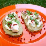 Guakamoles maizītes ar žavētu zivi