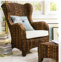 Pottery Barn Wicker Chairs