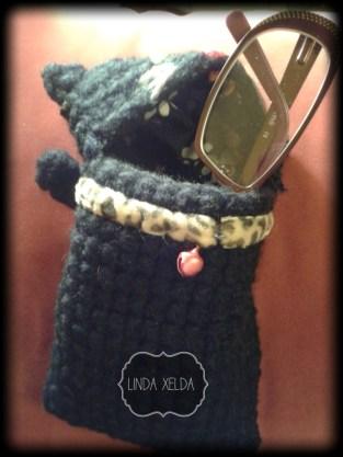 fundas para smartphone para amantes de los gatos Linda Xelda