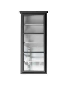 Product image of Lindebjerg Design Classic V4 Anthracite vitrine Cabinet