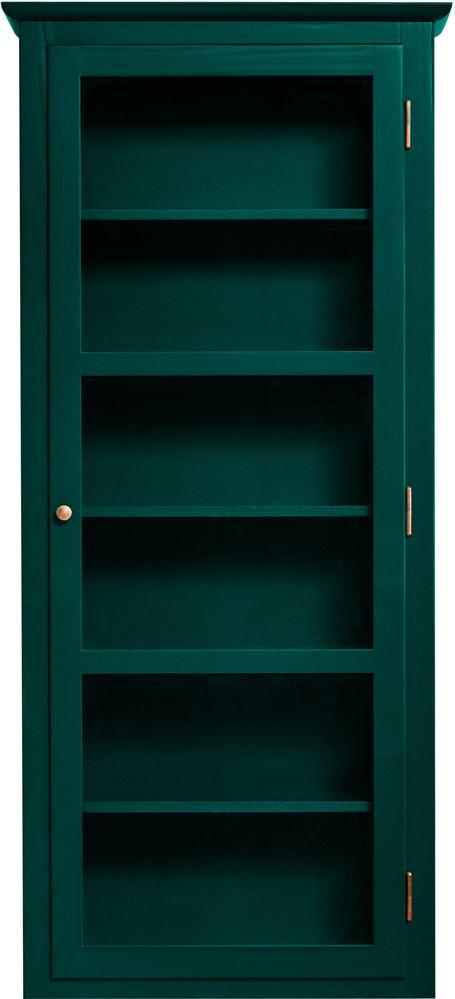 Produktbillede af Lindebjerg Design Color N4 Green Vitrineskab