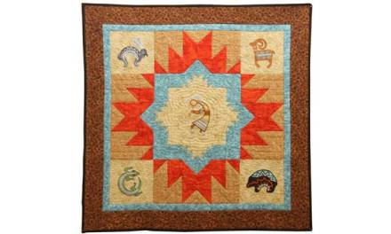 A Taste of the Southwest – Appliqued & Quilted Wall Hanging Project
