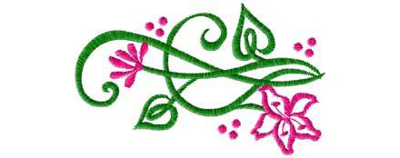 June 2010 Free Embroidery Design